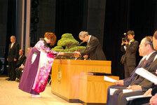 2011年3月24日 愛媛大学卒業式
